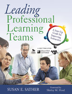 """<span class=""""hi-italic"""">Leading</span> Professional Learning Teams: A Start Up Guide for Improving Instruction"""