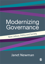Modernising Governance: New Labour, Policy and Society