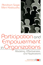 Participation and Empowerment in Organizations: Modeling, Effectiveness, and Applications