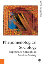 Phenomenological Sociology: Insight and Experience in Modern Society