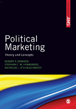 """Political Marketing: <span class=""""hi-italic"""">Theory and Concepts</span>"""
